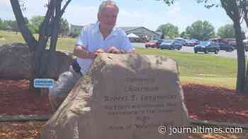 In Photos: Former Waterford town chairman honored at rock dedication ceremony - Journal Times