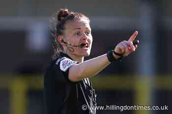 Rebecca Welch first female referee appointed to EFL's National Group list - Hillingdon Times