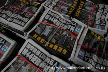 Hong Kong's Apple Daily newspaper says it may shut down - Hillingdon Times