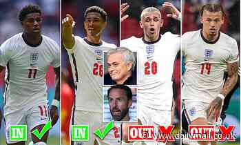Euro 2020: Jose Mourinho tells Gareth Southgate HIS England XI to face Czech Republic