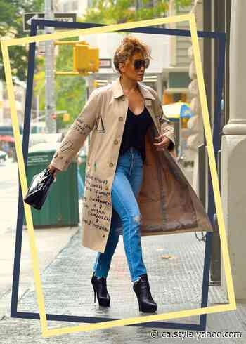 Jennifer Lopez and Sarah Jessica Parker's Go-To Denim Brand Is as Little as $19 Right Now - Yahoo