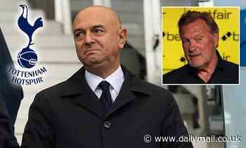 Tottenham chairman Daniel Levy is 'chasing his tail', says Glenn Hoddle