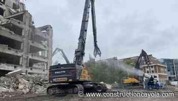 Volvo siège à Lille - Construction Cayola