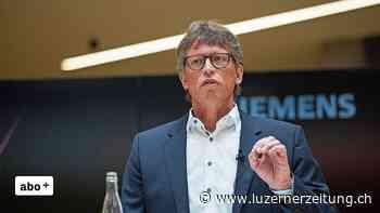 Siemens investiert weitere 70 Millionen Franken in Zug - Luzerner Zeitung