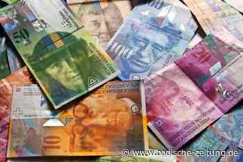 98 Millionen Franken weniger - Basel - Badische Zeitung