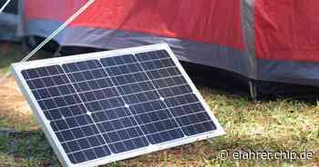 Solar-Gadgets im Amazon-Sale: Vor allem Reisende kommen auf ihre Kosten - EFAHRER.com