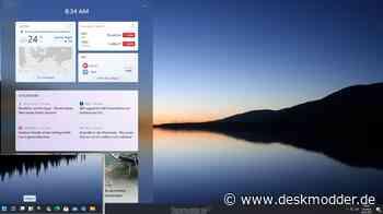 Windows 11 Gadgets werden zu Widgets und kommen später auch von Drittanbietern - deskmodder.de