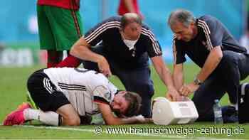 Bandagiertes Knie: Müller-Ausfall gegen Ungarn wahrscheinlich