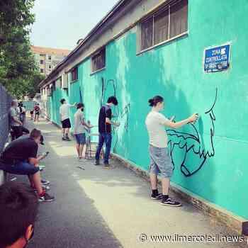 NICHELINO - Parte la 'Palestra d'arte urbana' sui muri della città - Il Mercoledi