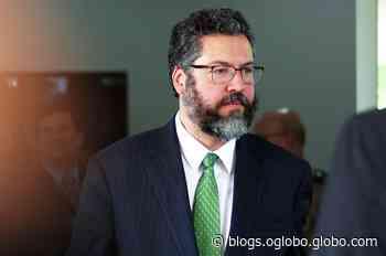 A Israel, Ernesto Araújo afirmou que vizinhos ameaçam o Brasil - Jornal O Globo