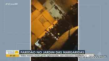 VÍDEO: moradores denunciam festa tipo 'paredão' em condomínio do Jardim das Margaridas, em Salvador - G1