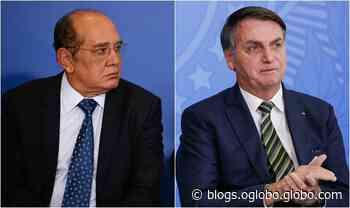 O jantar de Gilmar Mendes e Jair Bolsonaro - Jornal O Globo