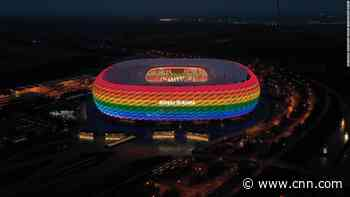 Plan to light up German stadium in rainbow colors for Euro 2020 is rejected