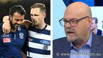 'Don't care if he's the Pope': Robbo unloads on Cats star amid coach's staunch defence