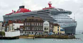 New 110,000 tonne cruise ship is biggest ship to have ever docked in Portsmouth