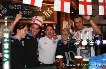 How Brighton fans celebrated the Euros before Covid