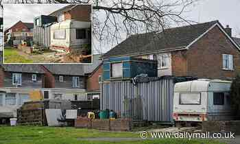 'Nightmare neighbour' finally removes shipping container in Swindon back garden