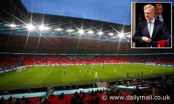 Wembley 'could host 65,000 football fans' for Euros semi-final and final