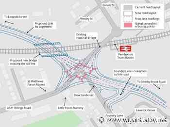 Design changes proposed to major M58 link road - Wigan Today