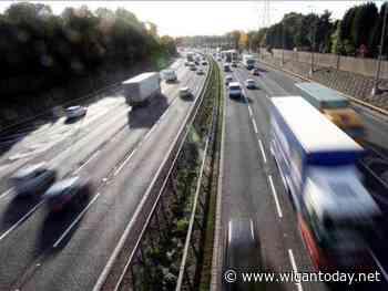 Broken down vehicle causes delays on M6 near Wigan - Wigan Today