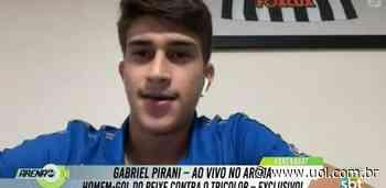 Fiquei feliz pela assistência, diz Pirani após erro de Liziero em clássico - UOL Esporte