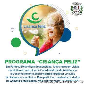 Farturenses podem se inscrever no programa Criança Feliz - Jornal Sudoeste Paulista