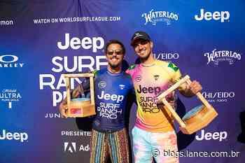 Filipe Toledo feliz, e longe da depressão, é a maior vitória do Brasil no surf - LANCE!