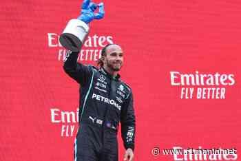 """Hamilton sobre segundo lugar na F1 na França: """"Estou feliz com o resultado"""" - F1Mania"""