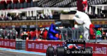 """Alonso comemora melhora da Alpine e sai da França """"feliz com 4 pontos no bolso"""" - Terra"""