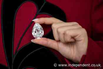 In a first, Sotheby's will accept cryptocurrencies for rare pear-shaped diamond expected to fetch $15m