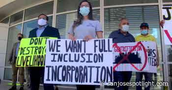 Los vendedores del mercado de pulgas de San José hacen huelga de hambre, los legisladores deciden el destino del mercado - San José Spotlight - San Jose Spotlight