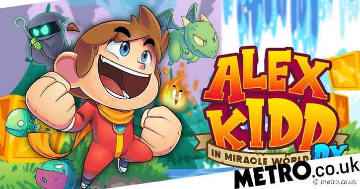 Alex Kidd In Miracle World DX review – interactive history lesson