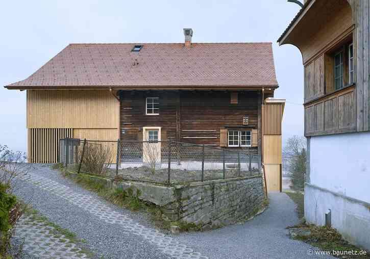 Wohnen im Strickbau  - Umbau in St. Gallen von kit architects