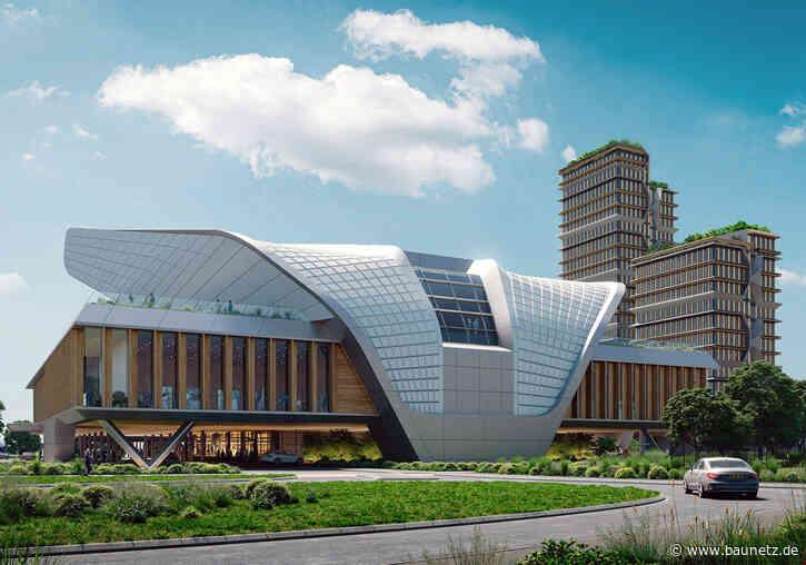 Expressiv entspannt in Eindhoven  - UNStudio planen Konferenzzentrum