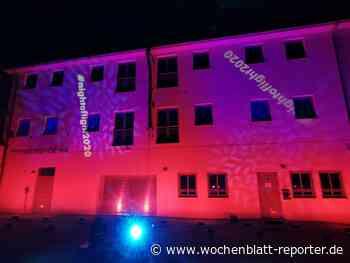 Night of Light - Eventlocations in Kirchheimbolanden leuchten erneut: Protesttag der Veranstaltungswirtschaft - Kirchheimbolanden - Wochenblatt-Reporter