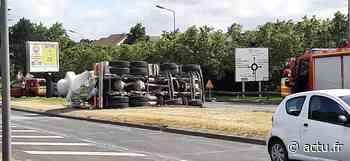 Val-d'Oise. Un camion toupie se renverse à Osny, le conducteur sérieusement blessé - La Gazette du Val d'Oise - L'Echo Régional