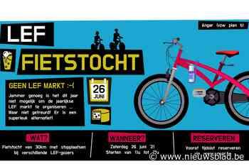 Met 'LEF' de fiets op