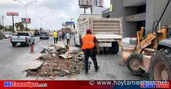 Tamaulipas Ampliarn tramo de la calle Sexta en Matamoros - Hoy Tamaulipas