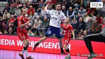 Handball: Rückraummann Julius Schroeder kommt aus Aue zu den Mecklenburger Stieren | svz.de - svz – Schweriner Volkszeitung