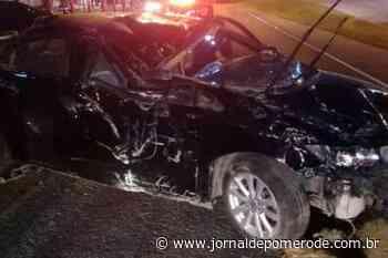 Homem é preso após dirigir embriagado e causar acidente, na Via Expressa - Jornal de Pomerode
