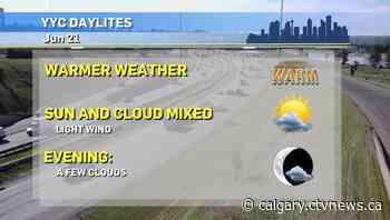 Calgary weather for Monday, June 21 - CTV Toronto