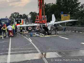 Leichtflugzeug bei Gelnhausen abgestürzt - Beide Insassen tot - Main-Echo