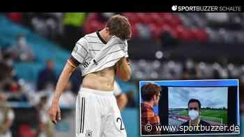 Im Video: Sorgen um Thomas Müller – So ist die Lage beim DFB-Team nach dem Abschlusstraining - Sportbuzzer