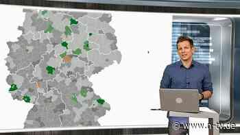 Pandemie-Lage am 22. Juni: Diese Regionen sind bereits Corona-frei - n-tv.de - n-tv NACHRICHTEN