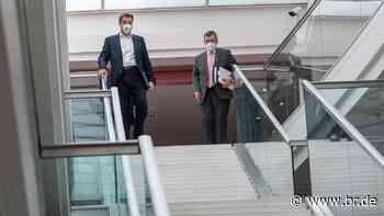 BR24Live ab 12.25 Uhr: Bayerisches Kabinett berät Corona-Lage - BR24