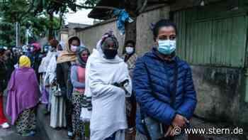Parlamentswahl in Äthiopien von Lage in Konfliktregion Tigray überschattet - STERN.de