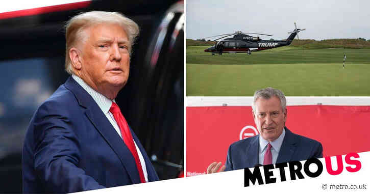 Donald Trump's company sues New York City over canceled rights to run golf course