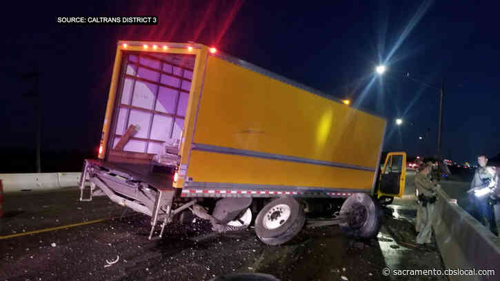 Northbound Highway 99 Lanes Blocked Near Elk Grove After Crash