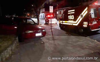 ALFENAS | Batida entre carros deixa dois feridos e um dos motoristas foge do local - Portal Onda Sul - Portal Onda Sul