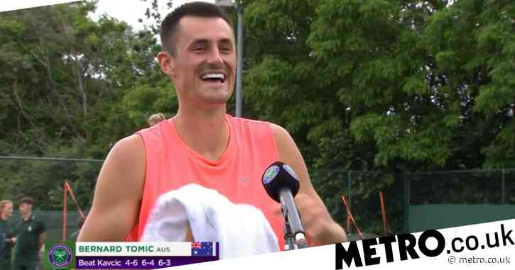 'I s**t myself': 'Nervous' Bernard Tomic gives x-rated review of Wimbledon qualifying win